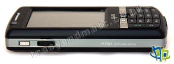 Asus P750 left side