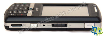Asus P750 right side