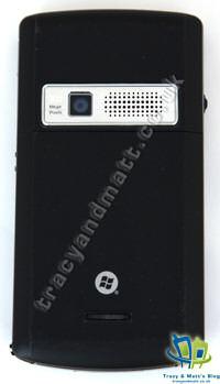 Asus P750 back