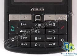 Asus P750 keypad
