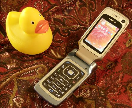 Nokia 6290 open