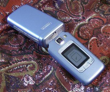 Nokia 6290 top view